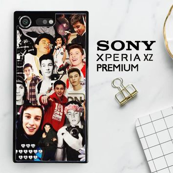 Shawn Mendes Collage Y1146 Sony Xperia XZ Premium Case