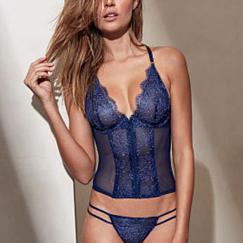 Chantilly Lace Strappy Bustier - Very Sexy - Victoria's Secret