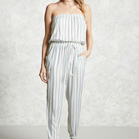 Contemporary Striped Jumpsuit