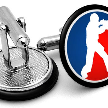 Counter-strike Logo Cufflinks