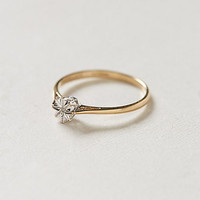 Vintage Diamond Starburst Lover's Ring