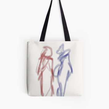 'shopping' Tote Bag by BillOwenArt