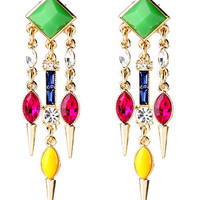 Neo Geo Statement Earrings