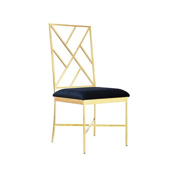 Worlds Away Ashton Velvet Dining Chairs