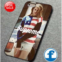 Lana Del Rey Supreme for iphone, ipod, samsung galaxy, HTC and Nexus phone case