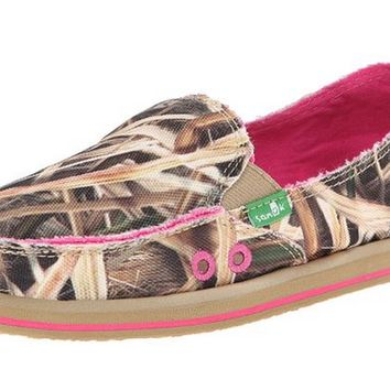 Sanuk Donna Blades Mossy Oak Slip-On Loafers