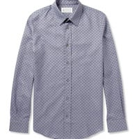 Maison Martin Margiela - Slim-Fit Patterned Cotton Shirt | MR PORTER