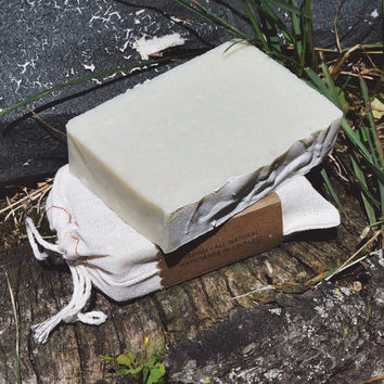 SALE! Sir Douglas Fir Soap.  French Green Clay, Fir Needle.  All Natural + Vegan Soap