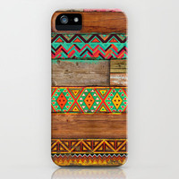 Indian Wood iPhone & iPod Case by Maximilian San