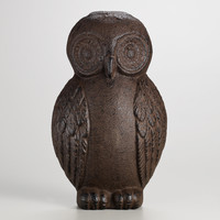 Cast Iron Owl Doorstop - World Market