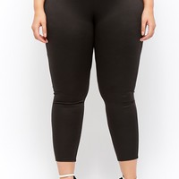 Plus Size High-Waisted Leggings