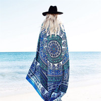 Beach Cover Up Cloak Bohemia Pareo Bikini Boho Hippie Swimwear