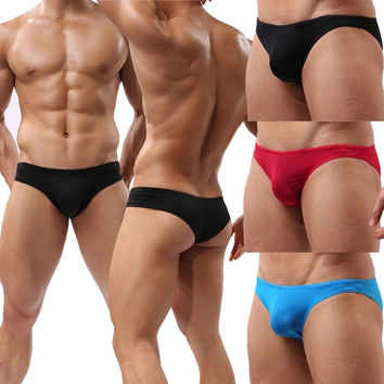 Men's Briefs Underwear Comfy Enhance Bulge Pouch Bikini Boxers Sexy Mini Boxer  7_S = 1917083652