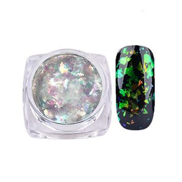 Nail Art Gorgeous Chameleon Mirror Powder Manicure Chrome Pigment Glitters 0.2g