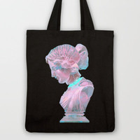 All Boundaries Are Conventions Tote Bag by Galvanise The Dog