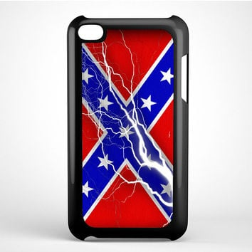 Confederate Rebel Flag Thunder Ipod Touch 4 Case