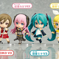 Nendoroid Petite: Hatsune Miku Renewal Trading Figures Character Vocal Serie