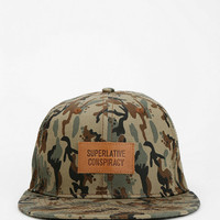 Urban Outfitters - WeSC Weland Camo Snapback Hat