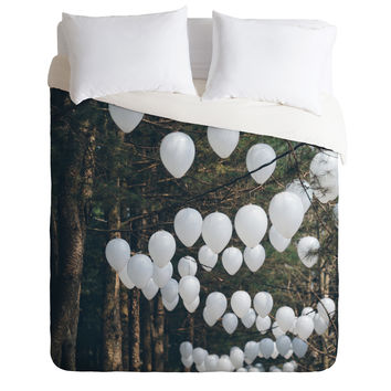 Catherine McDonald Romantic Forest Duvet Cover