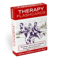 Knock Knock Self-Help Therapy Flashcards | Free Ship $35+