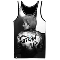 Grow Up Mesh Tank (Monumentour Exclusive)
