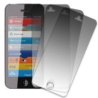 MPERO iPhone SE / 5S / 5 Screen Protector Film Covers [3-Pack], Matte Anti-Glare Finish