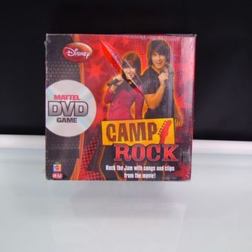 Camp Rock Disney Mattel DVD Game 2008 New Factory Sealed