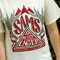 Supernatural Inspired - Sam's Moose Lager T-Shirt - Hand Screen Printed
