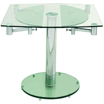 "Casabianca Thao Collection CB-T030 40"" - 63"" Extendable Dining Table"