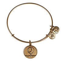 Alex and Ani Golf Tee Charm Bangle - Russian Gold