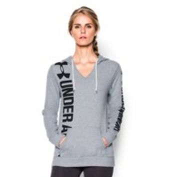 Under Armour Women's UA Favorite Fleece Branded Hoodie