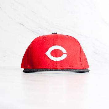 New Era Cincinnati Reds 59 Fifty - 'Red/Denim'