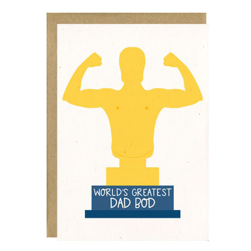 Dad Bod Funny Father's Day Card