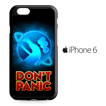 Hitchhiker's Guide To The Galaxy Dont Panic iPhone 6 Case