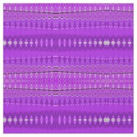 Bright Purple Abstract pattern design Fabric