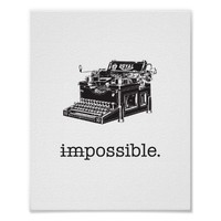Impossible, Possible - poster