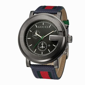 Gucci watches with Louis vuitton bracelets and Cartier rings, men's and women's fashion watches F-PS-XSDZBSH Black