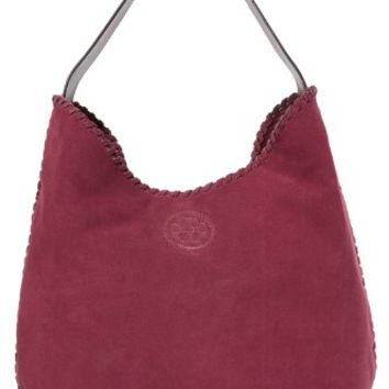 Marion Suede Hobo Bag