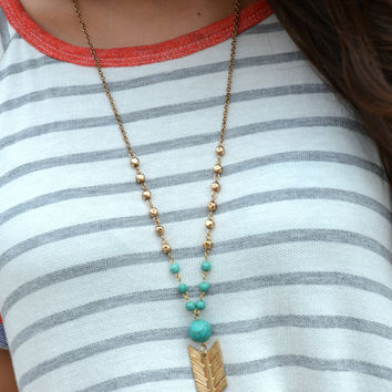 Arrow To My Heart Necklace
