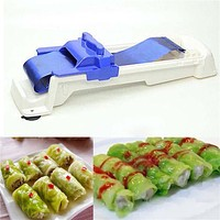 Sushi Tool Creative Durable Stuffed Grape Cabbage Leaf Rolling Tools Gadget Roller Machine For Turkish Dolma Sushi Kitchen Bar