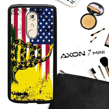 American Gadsden Flag Worn L2140 ZTE AXON 7 Mini Case