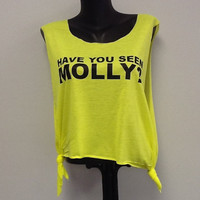 Printed Tank- Have You Seen Molly