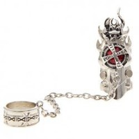 Kateky? Hitman Reborn Ring and Rotatable Red Gem Metal Ring with Box for Anime Lovers/Cosplay China Wholesale - Sammydress.com