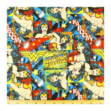steering wheel cover Wonder woman comic book fabric print wrap geek car truck suv jeep van retro wonderwoman hero nerd justice league cotton