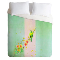 Hadley Hutton Between Bird Duvet Cover