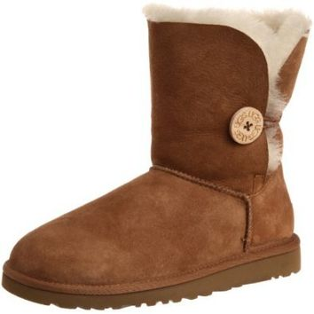 UGG Australia Women's Bailey Button Chestnut Boot 8 M US