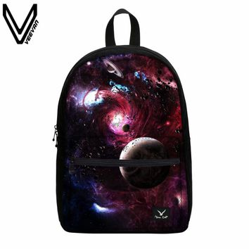 VEEVANV 2017 New Roblox Galaxy Night Sky Printing Shoulder Bags Canvas Backpack Fashion Men Women Backpacks School Bag  Children