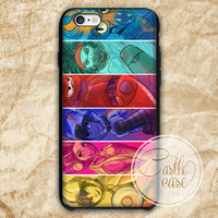 Big Hero 6 Water Color iPhone 4/4S, 5/5S, 5C Series, Samsung Galaxy S3, Samsung Galaxy S4, Samsung Galaxy S5 - Hard Plastic, Rubber Case