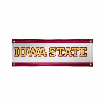 Iowa State Cyclones NCAA Vinyl Banner (2ft x 6ft)