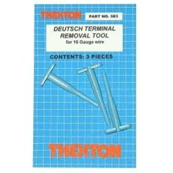 Deutsch Terminal Removal Tools for 16 gauge wire